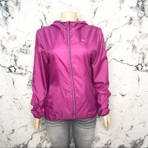 Puma Spring Rain Lightweight Jacket Pink